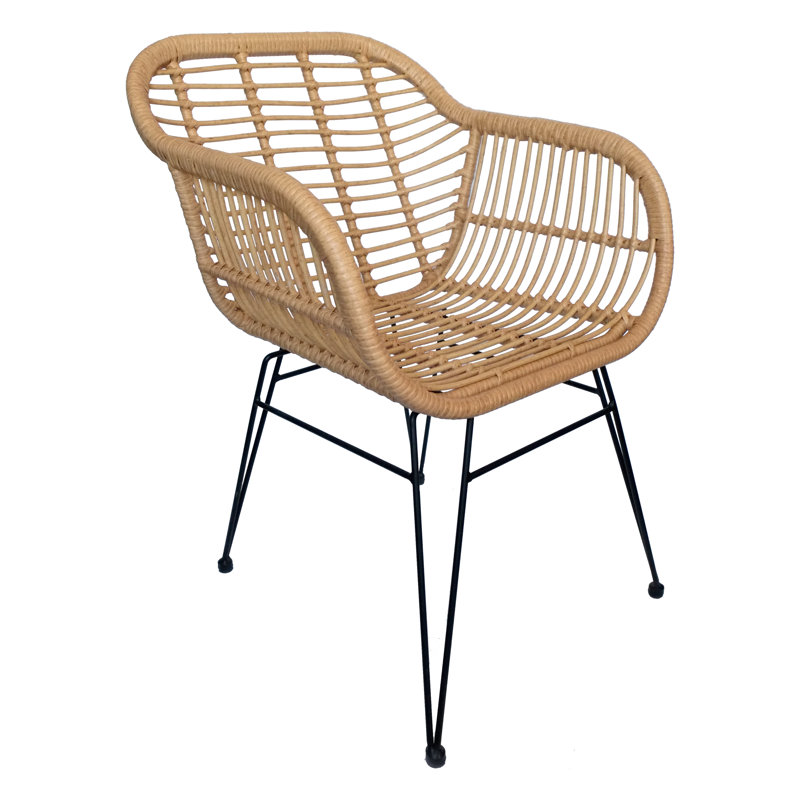 Pīts krēsls ar roku balstiem