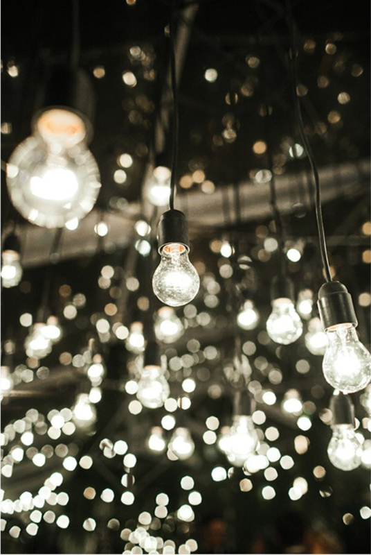 Lampiņu virtenes baltas/melnas