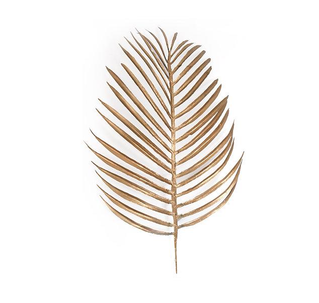Zelta palmas lapa