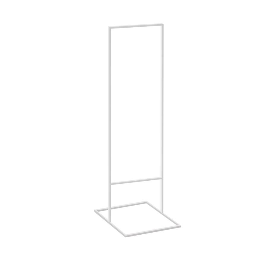 Metāla statīvs balts