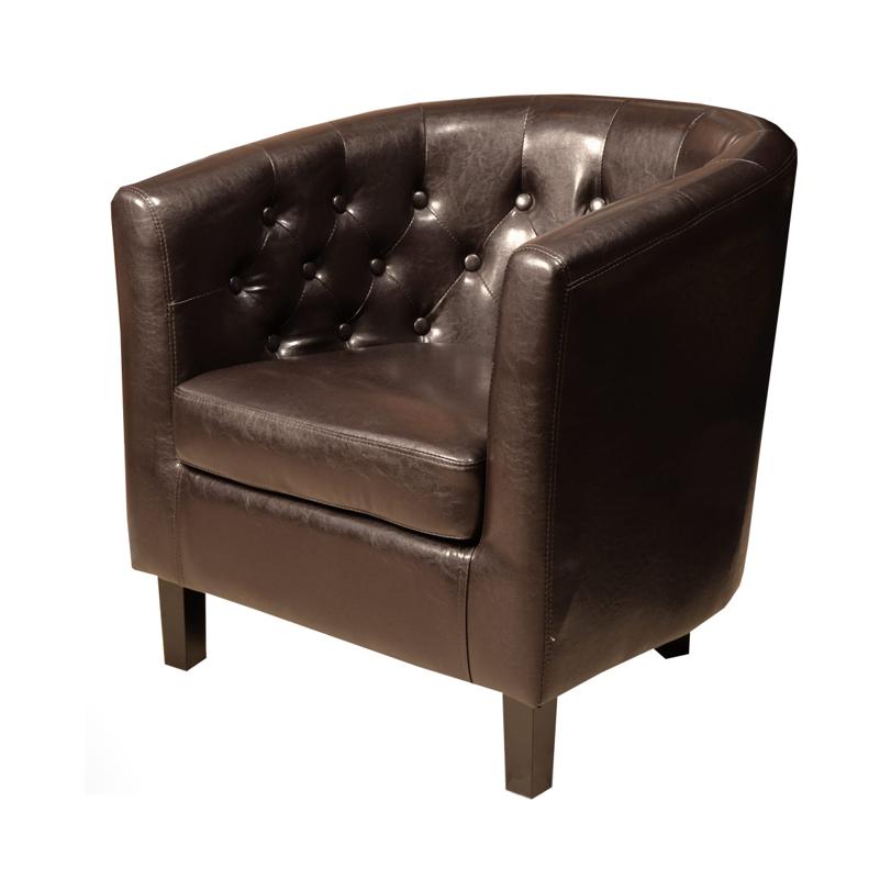 Klubkrēsls BROWN