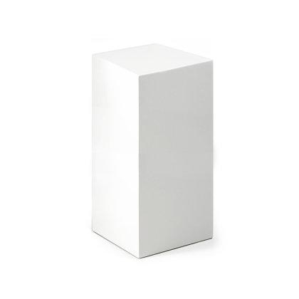 Balts podests 30x30 H80