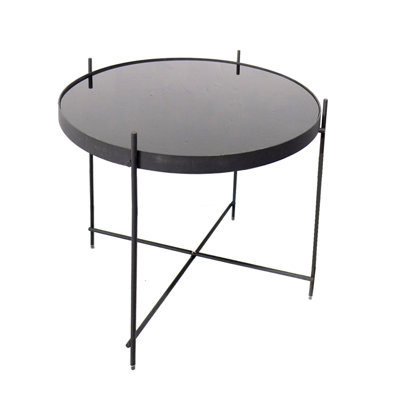 Zuiver galdiņš ar melnu stiklu vidējs