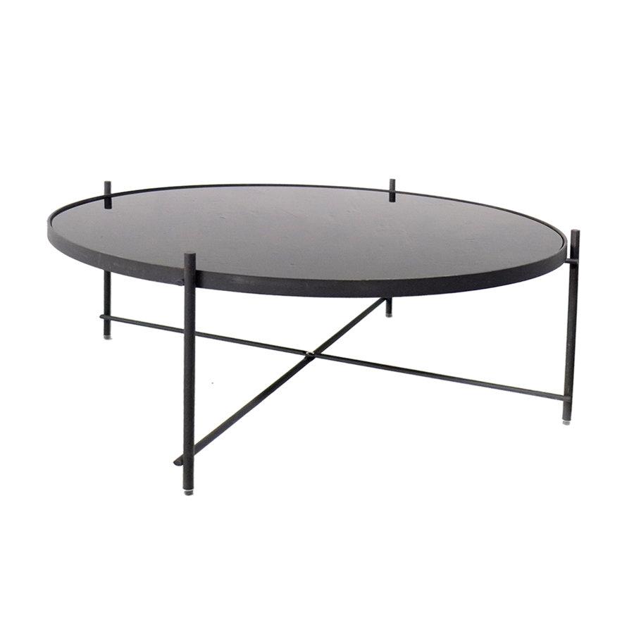 Zuiver galdiņš ar melnu stiklu liels